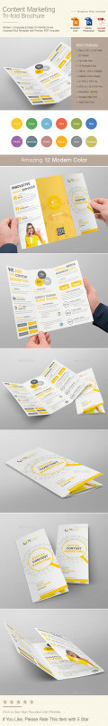 Tri Fold Brochure Ai Template Awesome Catalog and Trifold Corporate Brochure Templates Page 3