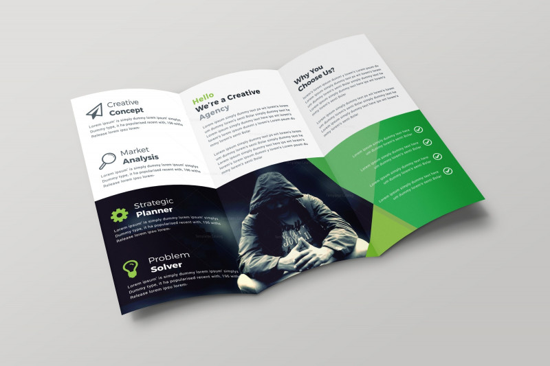 Tri Fold Brochure Ai Template New Vienna Professional Creative Tri Fold Brochure Design 001692