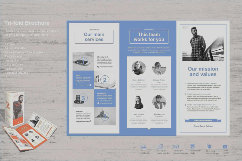 Tri Fold Brochure Template Google Docs Awesome Free Download 49 Blank Brochure Templates Example Free Resume