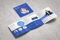 Tri Fold Brochure Template Illustrator Awesome Medical Square Tri Fold Brochure Brochure Templates Creative Market