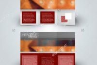 Tri Fold Brochure Template Illustrator Awesome Tri Fold Brochure Design Creative Business Stock Vector Royalty