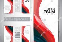 Tri Fold Brochure Template Illustrator Free New Trifold Brochure Template Stock Vector Royalty Free 210148915