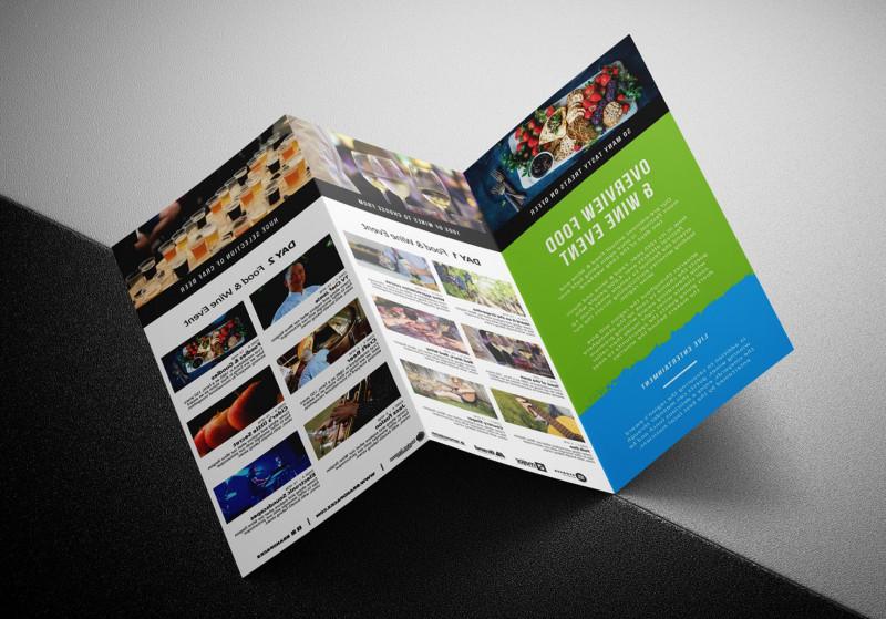 Tri Fold Brochure Template Illustrator Unique Adobe Illustrator Templates Vector Catchsplace