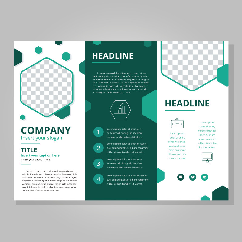 Tri Fold Brochure Template Illustrator Unique Free Printable Tri Fold Pamphlet Template 1486