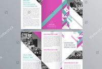 Tri Fold School Brochure Template Unique Brochure Design Brochure Template Creative Trifold Stock Vector