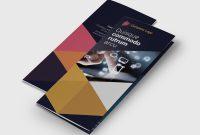 Tri Fold School Brochure Template Unique Tri Fold It Technology Flyer Template