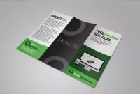 Two Fold Brochure Template Psd Awesome 007 Business Flyer Templates Free New Tri Fold Brochure Template
