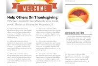 Volunteer Brochure Template Awesome Fall Farm Landscape Newsletter Progressive Church Media