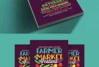 Wine Brochure Template New Farmer Market Festival Flyer Template Psd Flyer Design Templates