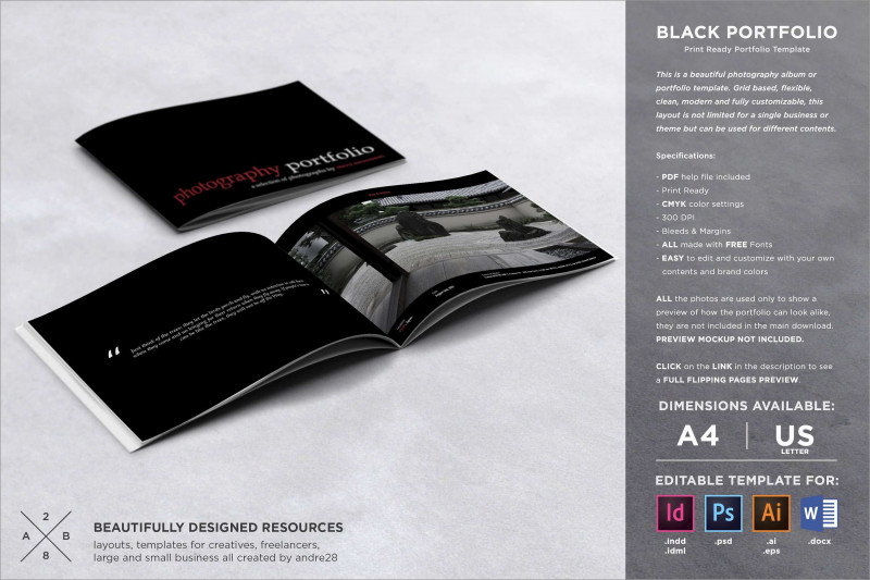 Z Fold Brochure Template Indesign Awesome Best Of Free Indesign Photography Portfolio Template Best Of Template