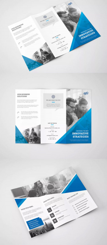 Z Fold Brochure Template Indesign Unique Free Printable Tri Fold Pamphlet Template 1486