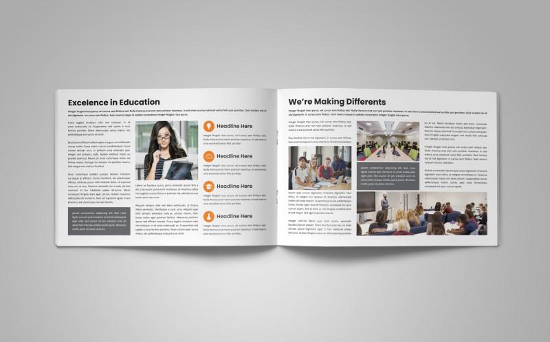 Zoo Brochure Template New Education Prospectus Brochure Corporate Identity Template 79567