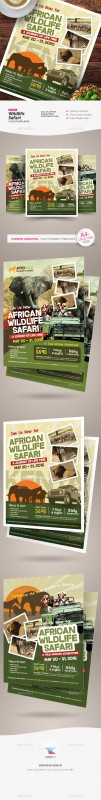 Zoo Brochure Template New Zoo Graphics Designs Templates From Graphicriver