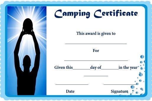 Basketball Camp Certificate Template 11