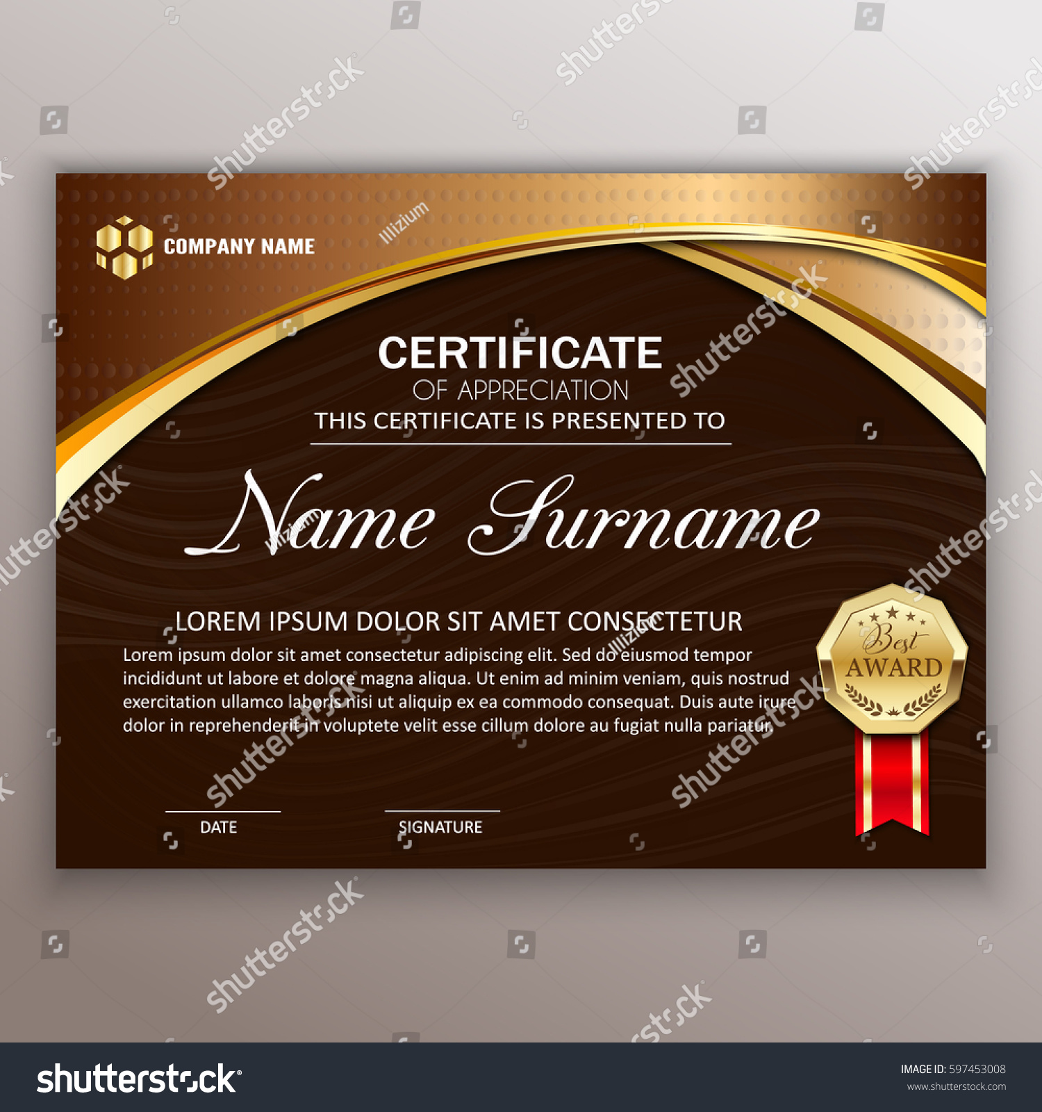 Beautiful Certificate Templates 12