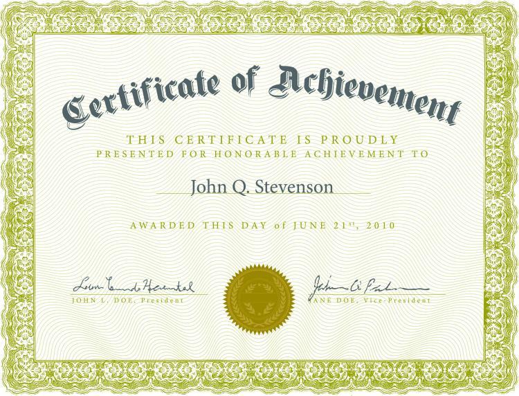 Beautiful Certificate Templates 4