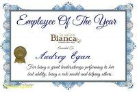 Best Employee Award Certificate Templates 3