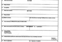 Birth Certificate Template Uk 3