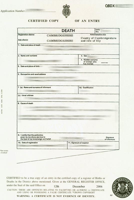 Birth Certificate Template Uk 5