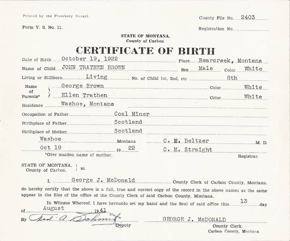Birth Certificate Template For Microsoft Word 7