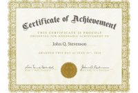 Blank Certificate Templates Free Download 4