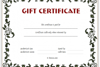 Blank Certificate Templates Free Download 8