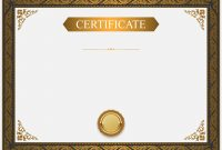 Certificate Border Design Templates 5
