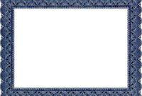 Certificate Border Design Templates 6
