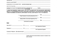 Certificate Of Acceptance Template 3