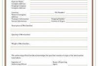 Certificate Of Manufacture Template 2