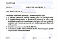 Certificate Of Payment Template 4