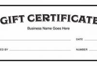 Certificate Template for Pages 10
