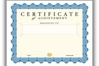 Certificate Template for Pages 2