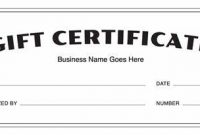 Certificate Template for Pages 6