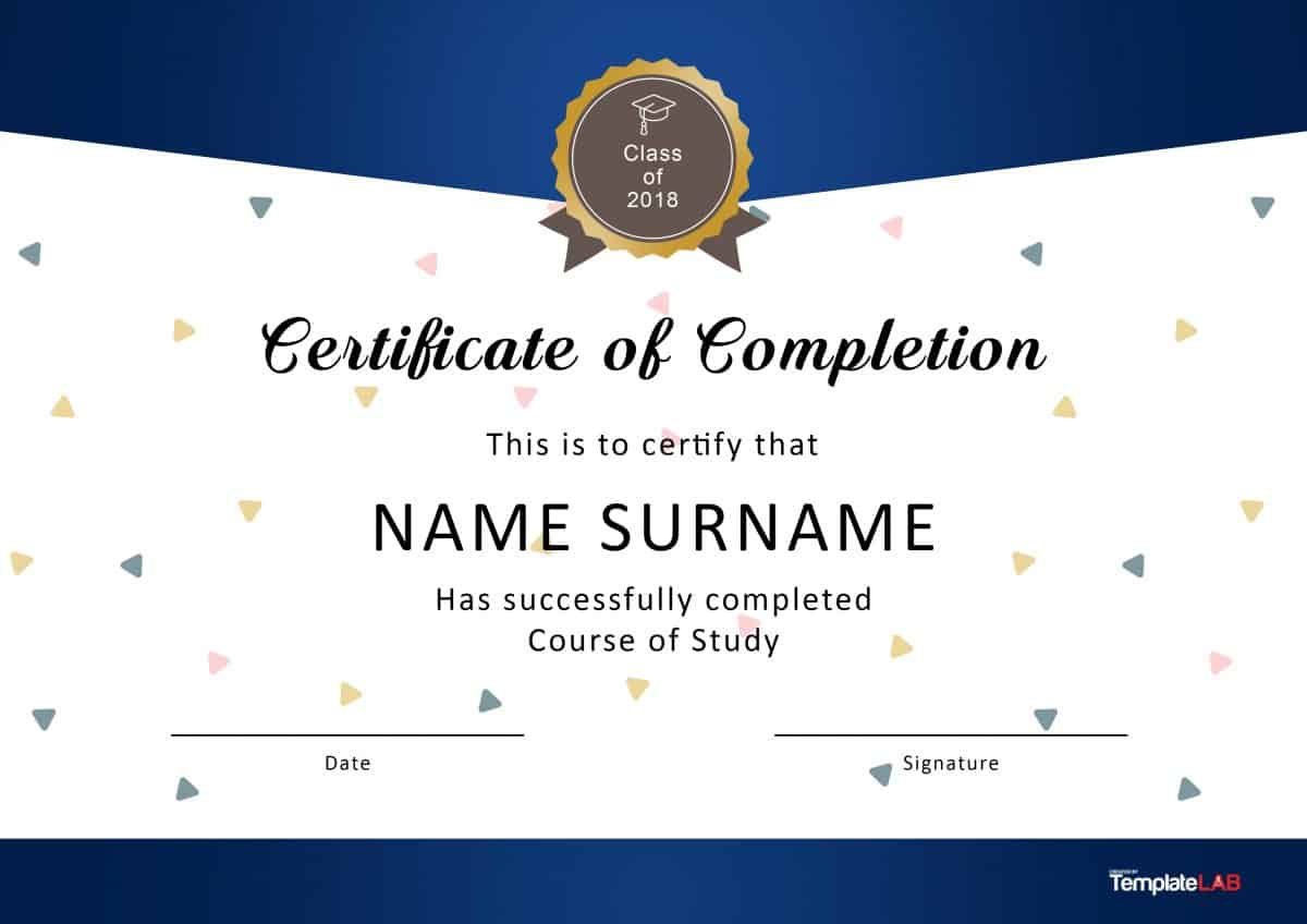Certificate Templates For Word Free Downloads 9