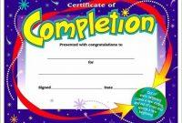 Children's Certificate Template 5
