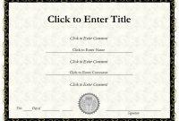 Christian Certificate Template 3