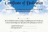 Christian Certificate Template 7