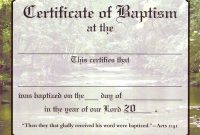 Christian Certificate Template 8