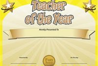 Classroom Certificates Templates 10