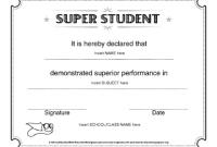 Classroom Certificates Templates 2