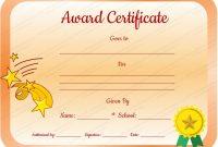 Classroom Certificates Templates 3