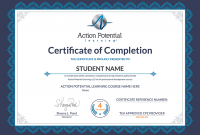Continuing Education Certificate Template 10