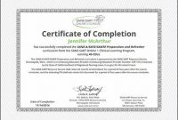 Continuing Education Certificate Template 6