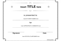 Continuing Education Certificate Template 8