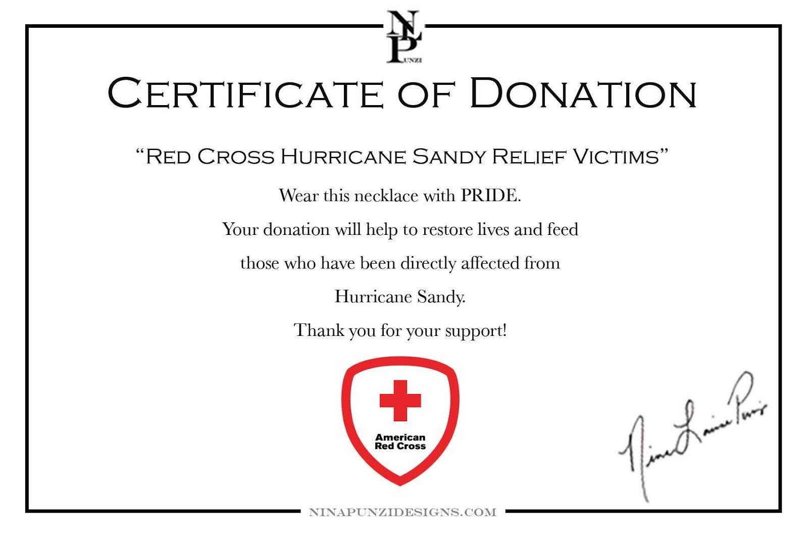 Donation Certificate Template 5