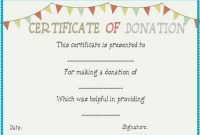 Donation Certificate Template 7