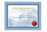 Donation Certificate Template 9