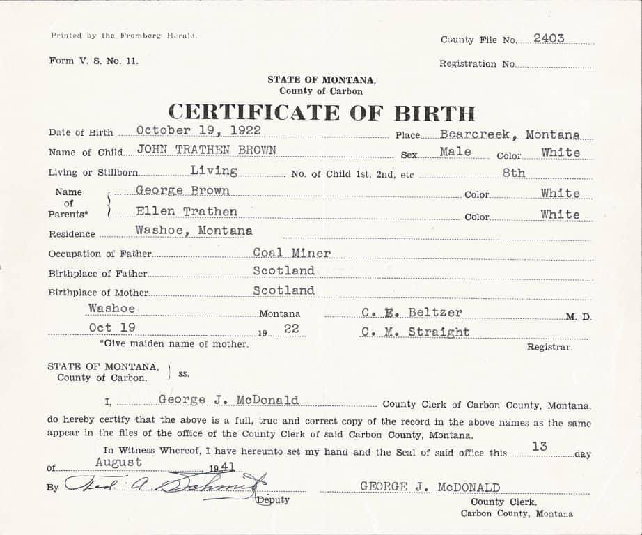 Editable Birth Certificate Template 7