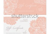 Elegant Gift Certificate Template 11